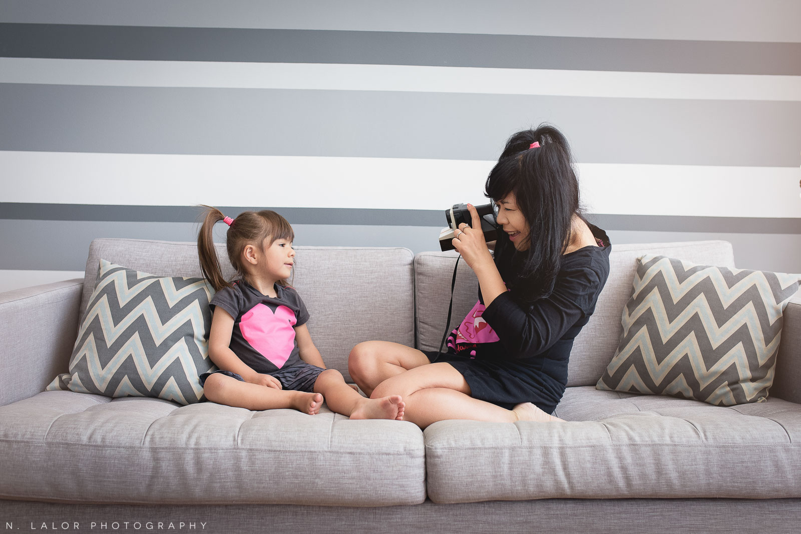 Styled family-life photo session in Brooklyn NY by N. Lalor Photography