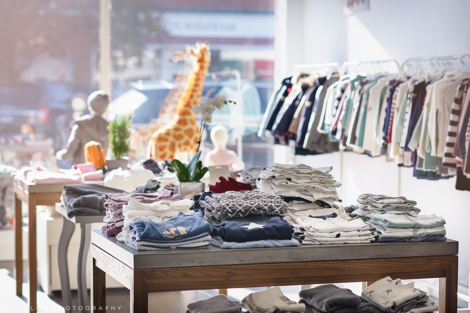 European brands Steiff, Papermoon, and Bellybutton at Ella & Henry in New Canaan. Photo by N. Lalor Photography.