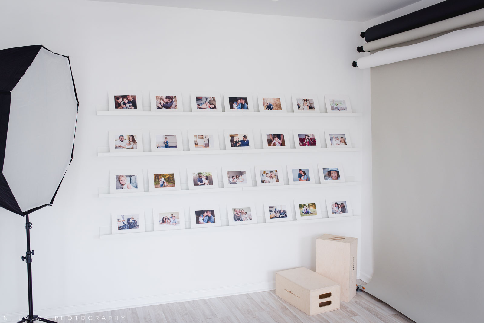 The reveal wall for Ordering Appointments.