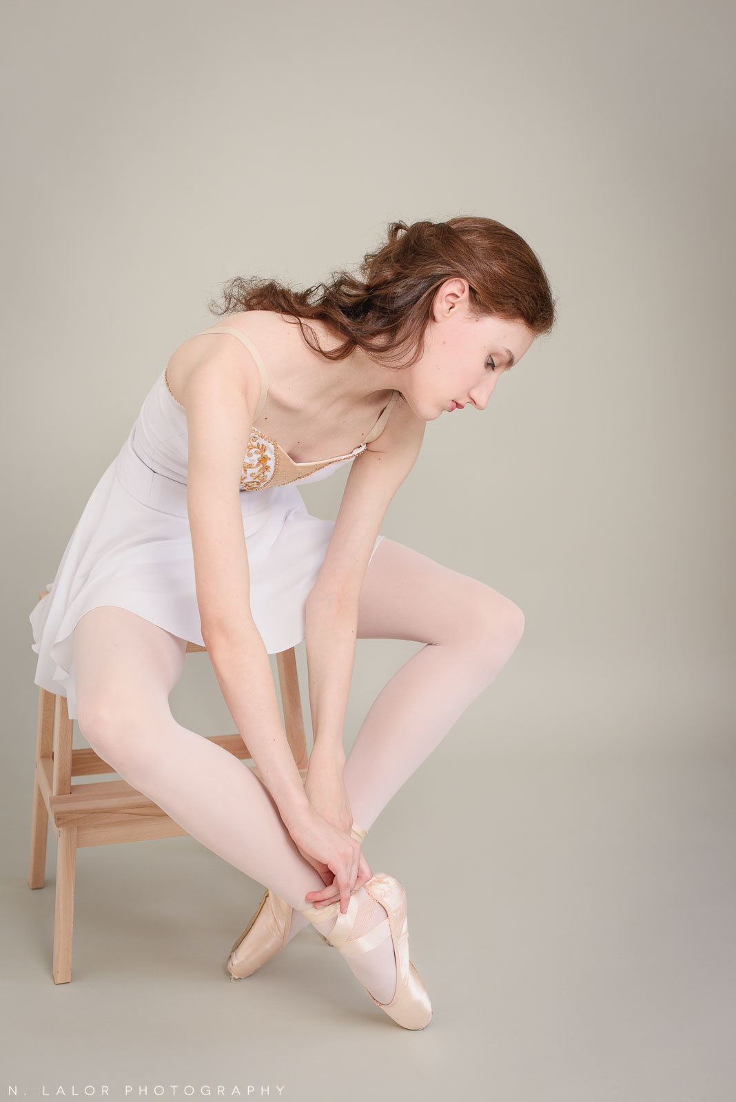 Ballet dancer portraits by N. Lalor Photography in Greenwich, Connecticut.