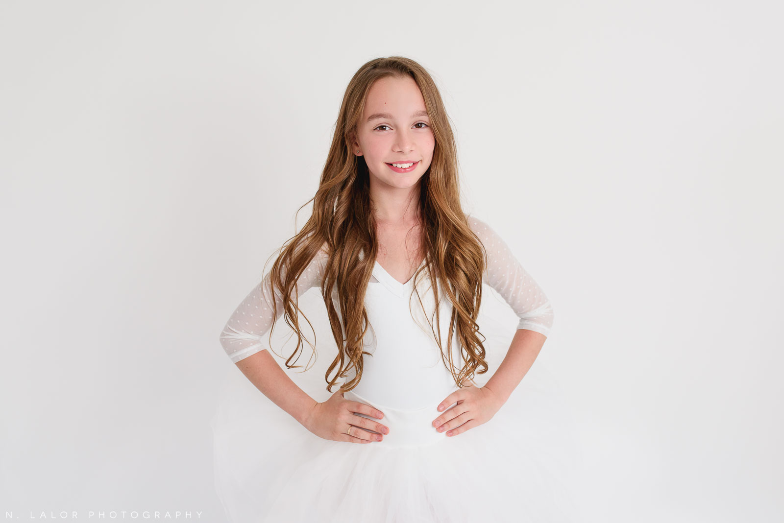 10 year old. Tween ballerina photoshoot with N. Lalor Photography. Greenwich, Connecticut.