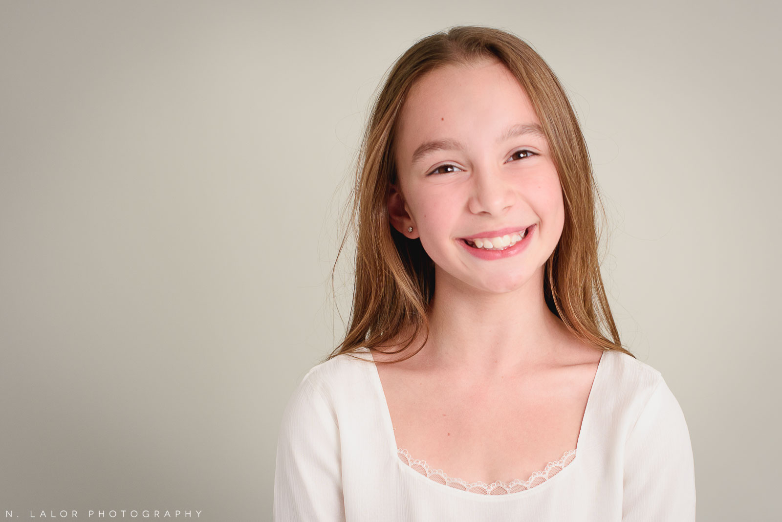 All smiles. Tween ballerina photoshoot with N. Lalor Photography. Greenwich, Connecticut.