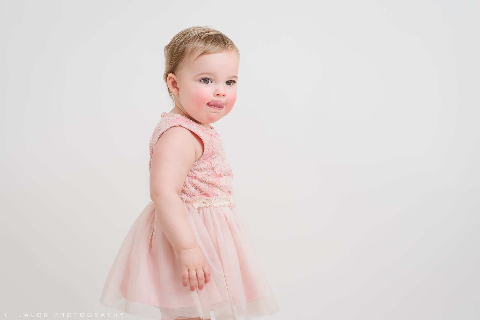 Toddler girl. Portrait by N. Lalor Photography. Greenwich, CT