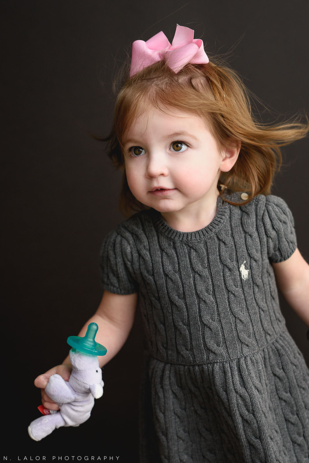 """Toddler girl portrait. Maternity """"Mom and Me"""" photo session by N. Lalor Photography. Studio located in Greenwich Connecticut."""