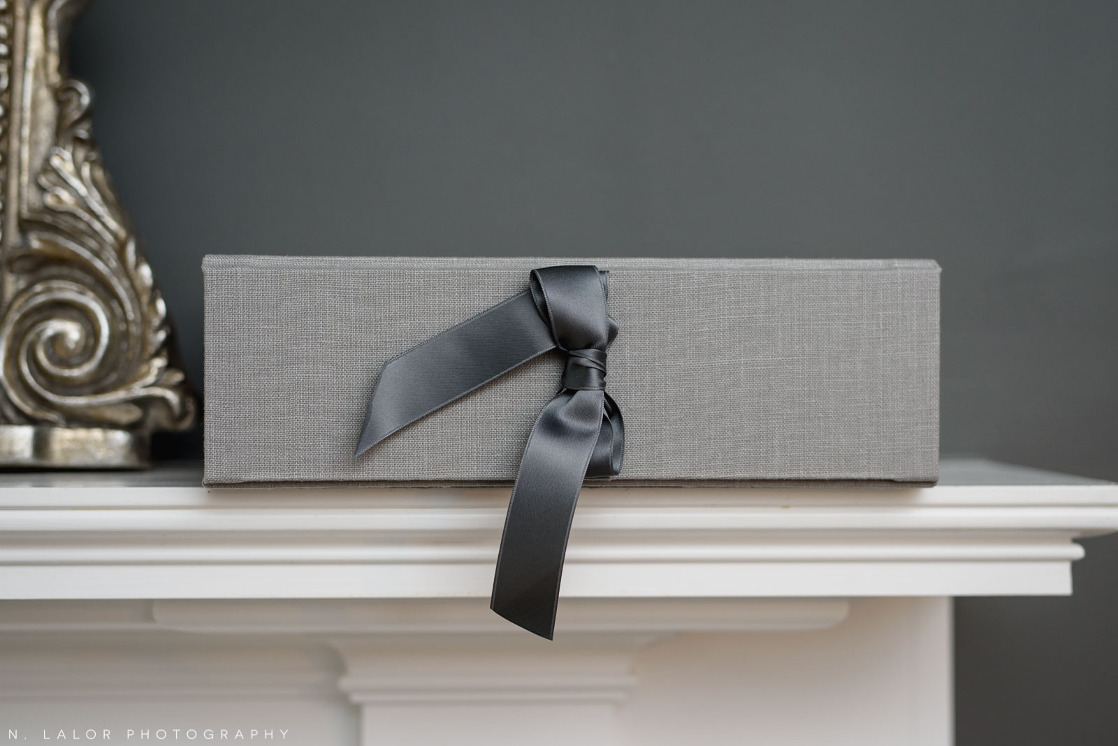 Beautiful photo presentation box by Cypress Albums. N. Lalor Photography's luxury fine art photography products, based in Greenwich, Connecticut.