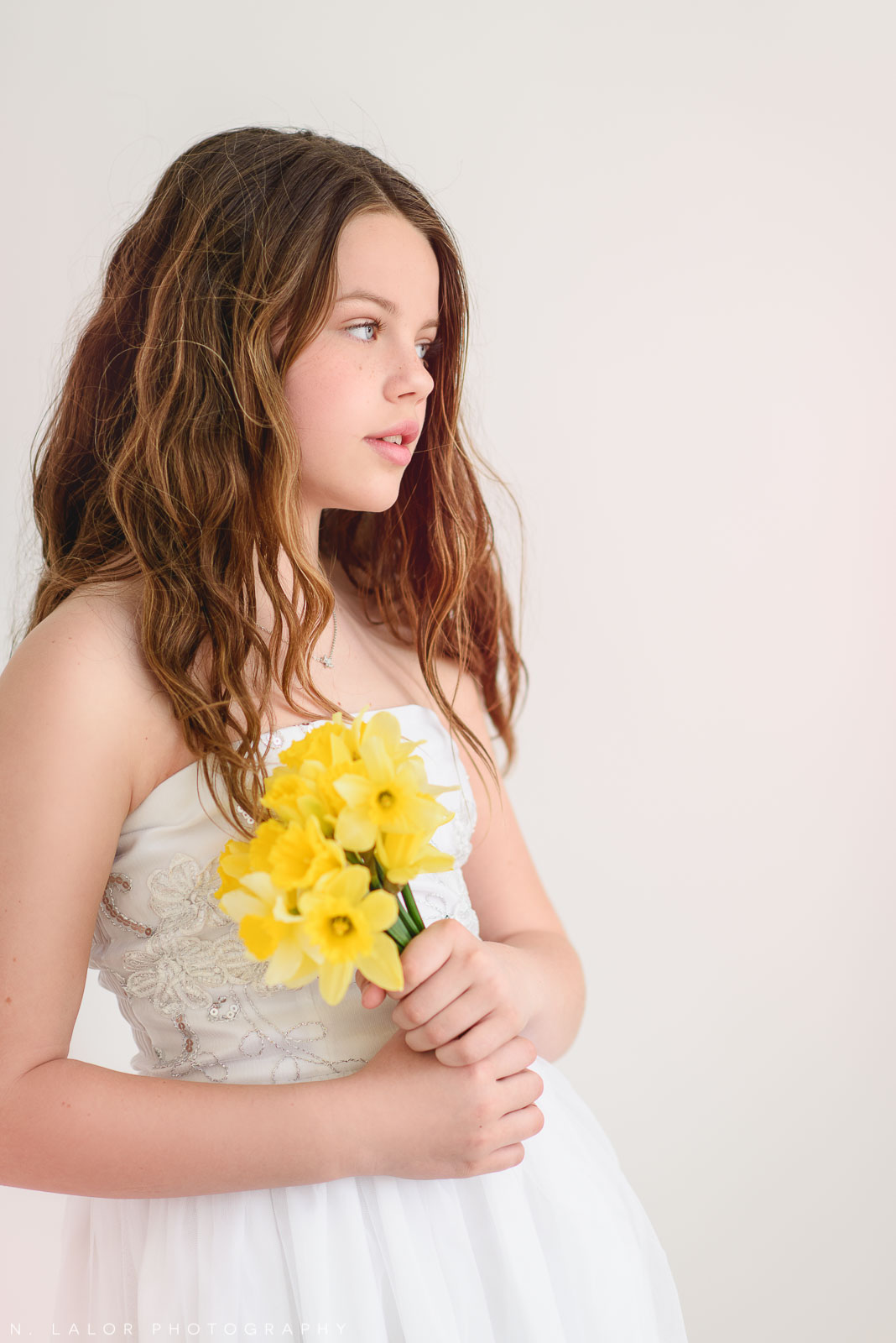 Spring flower styled photoshoot by N. Lalor Photography. Greenwich, CT.