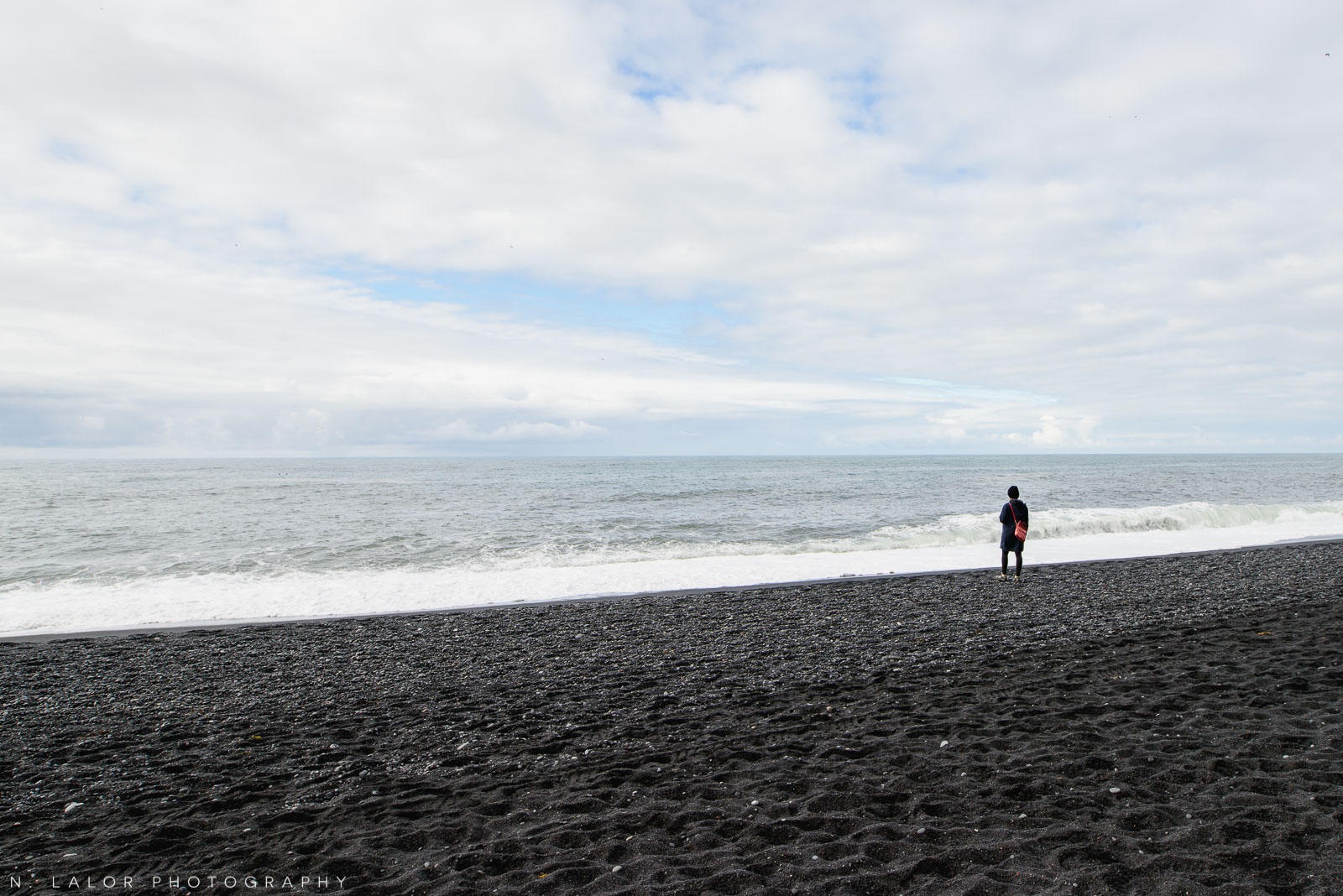 Reynisfjara Black Sand Beach. From my trip to Iceland in 2018. Photograph by Nataliya Lalor.