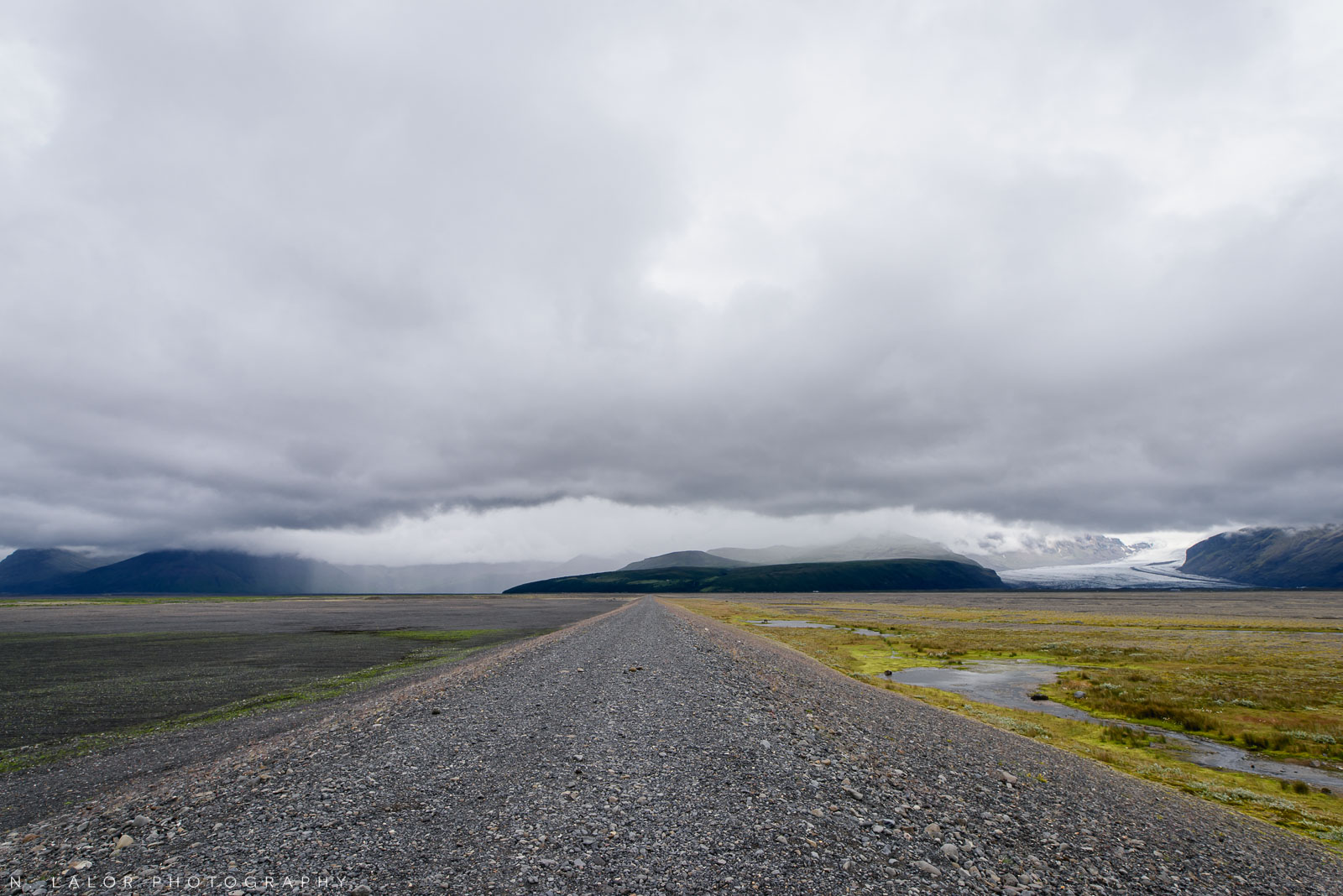 On the road. From my trip to Iceland in 2018. Photograph by Nataliya Lalor.