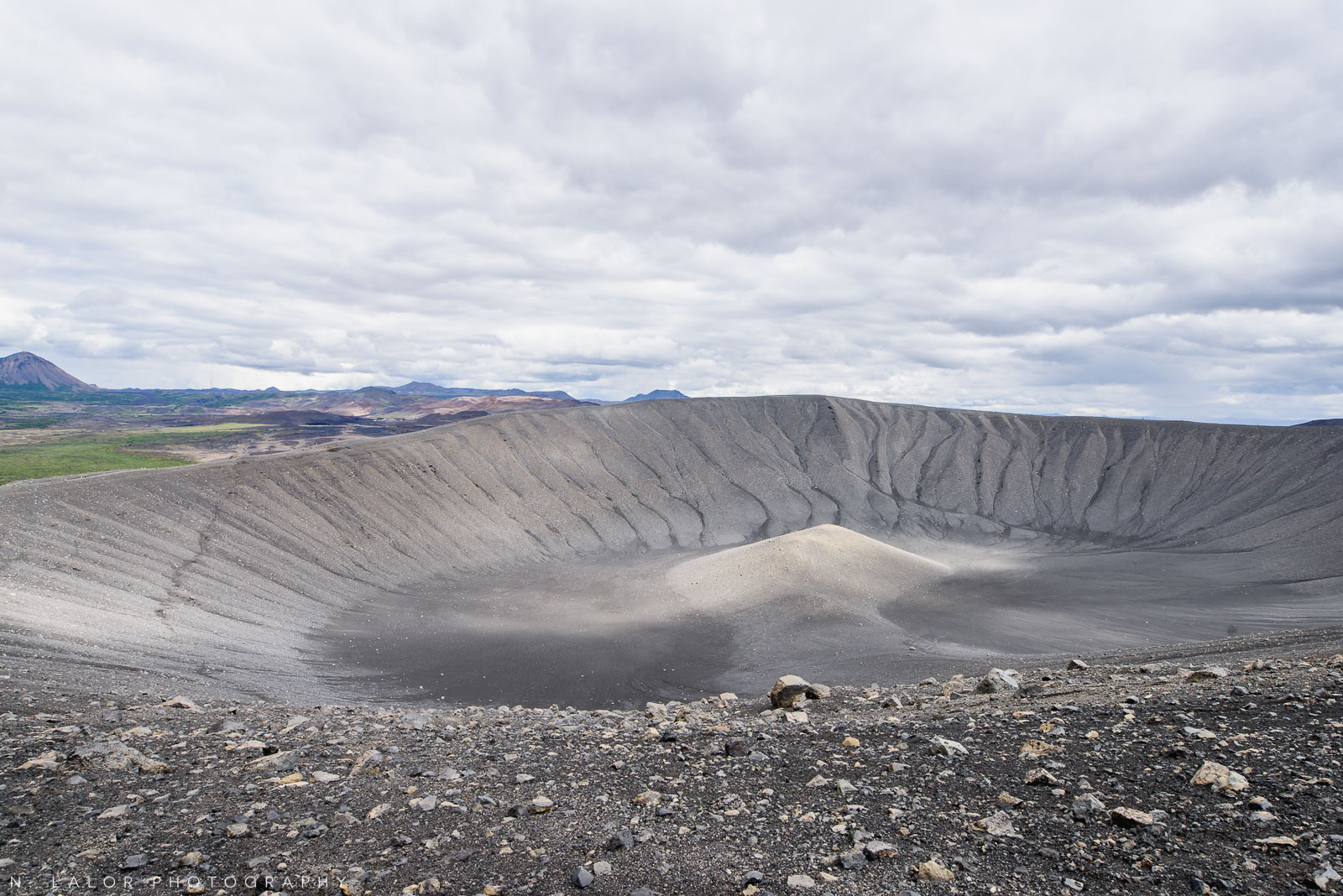 Hverfjall crater. From my trip to Iceland in 2018. Photograph by Nataliya Lalor.