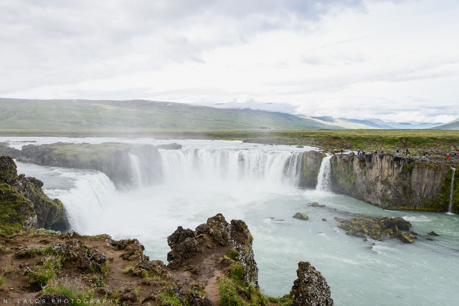 Goðafoss. From my trip to Iceland in 2018. Photograph by Nataliya Lalor.