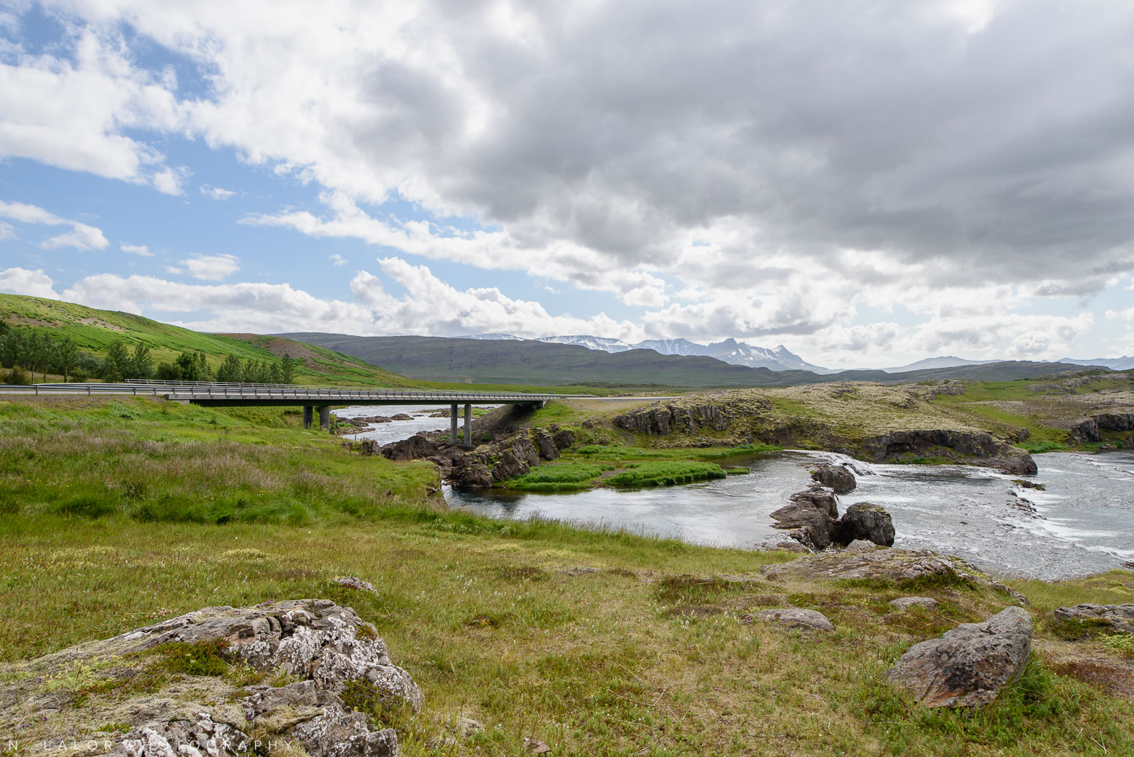 Rivers and bridges. From my trip to Iceland in 2018. Photograph by Nataliya Lalor.