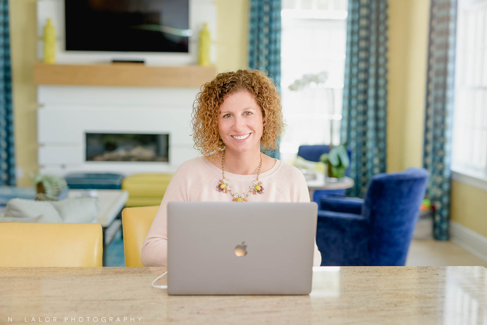 Paige, owner of Blue Pencil Company in Greenwich Connecticut, helps people live their best lives through better organization and memory keeping.