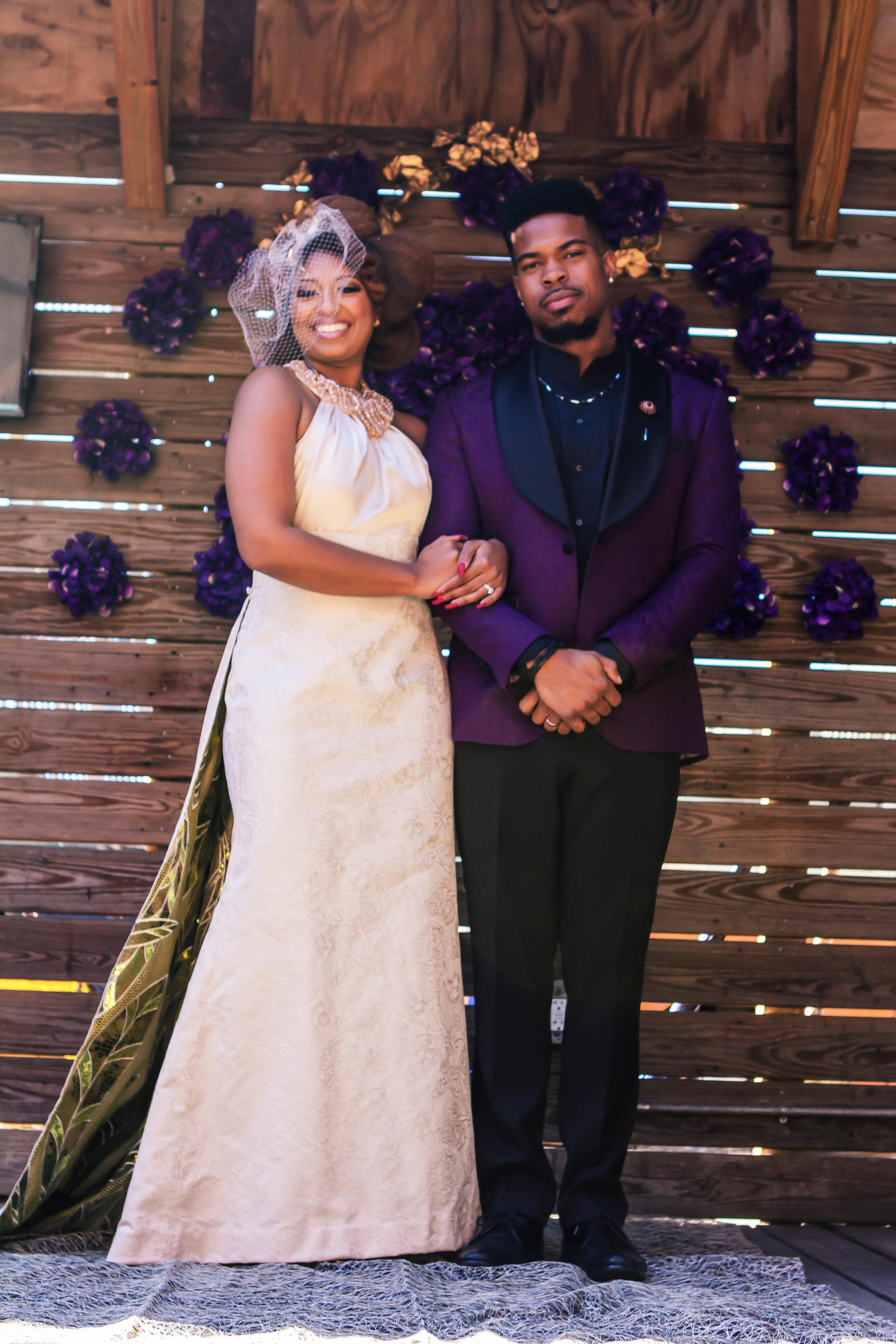 Luxe LeBlanc_Wakandan Wedding_Bride and Groom.jpg