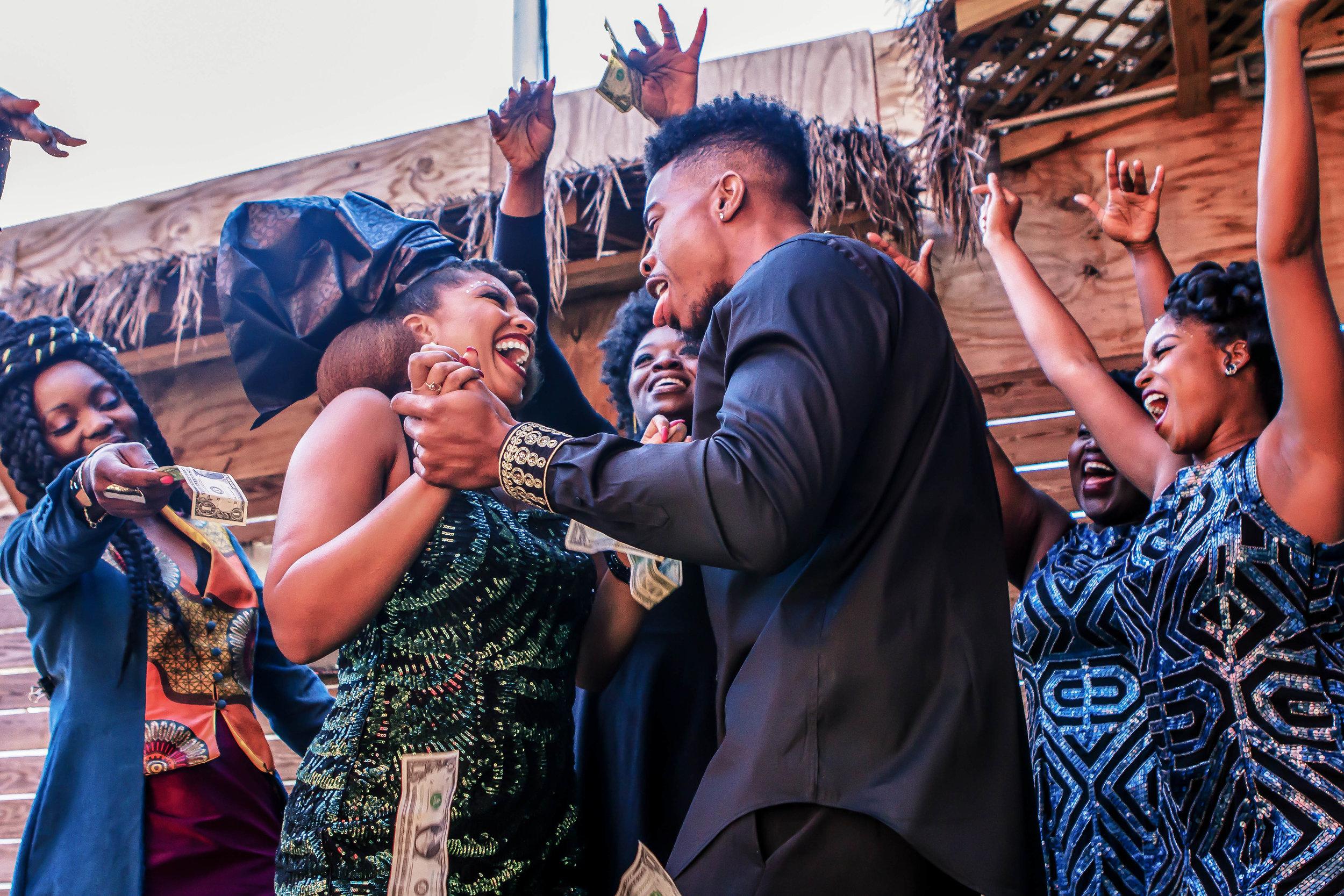 Luxe LeBlanc_Wakandan Wedding_Reception Money.jpg