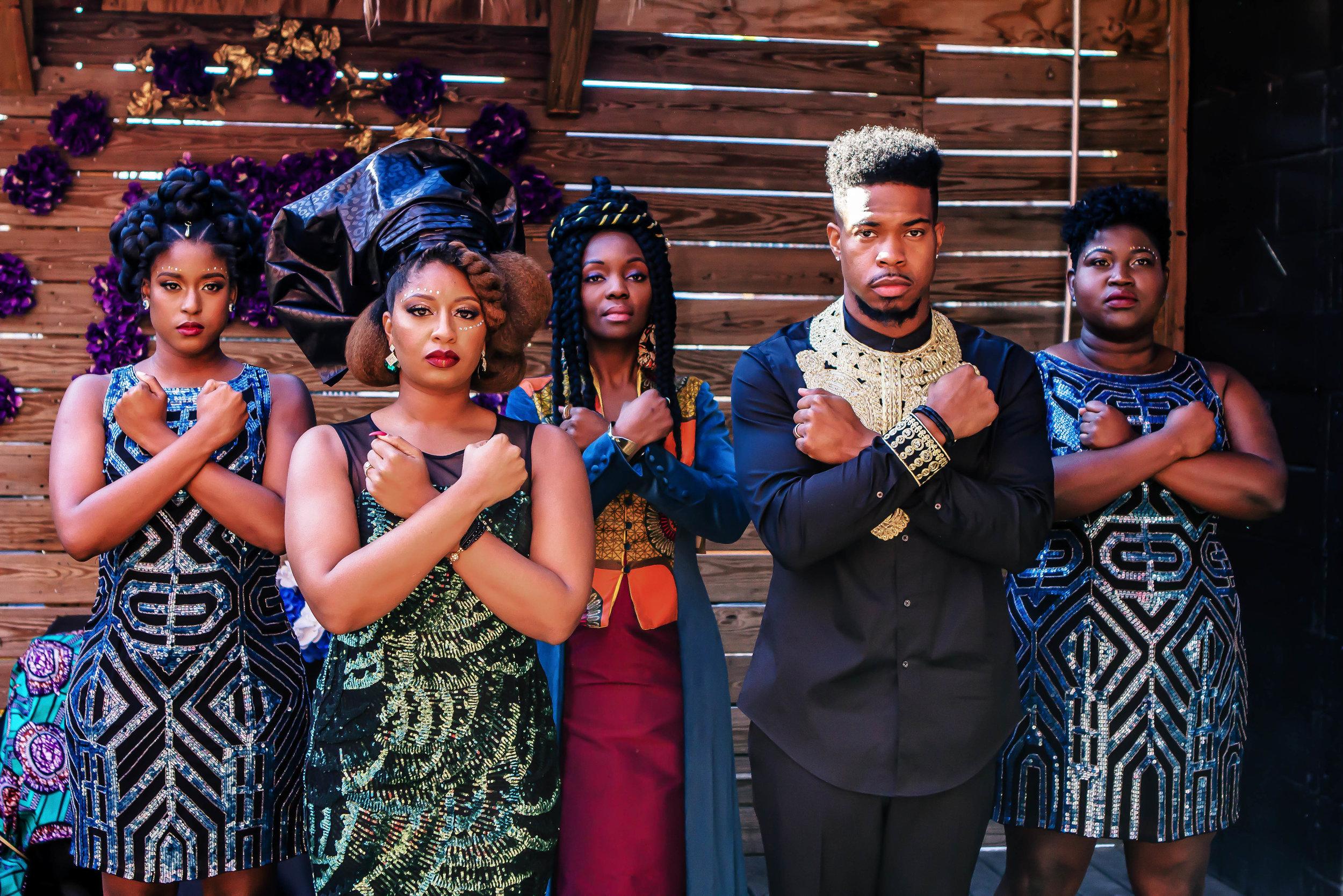 Luxe LeBlanc_Wakandan Wedding_Reception Wakanda Forever.jpg