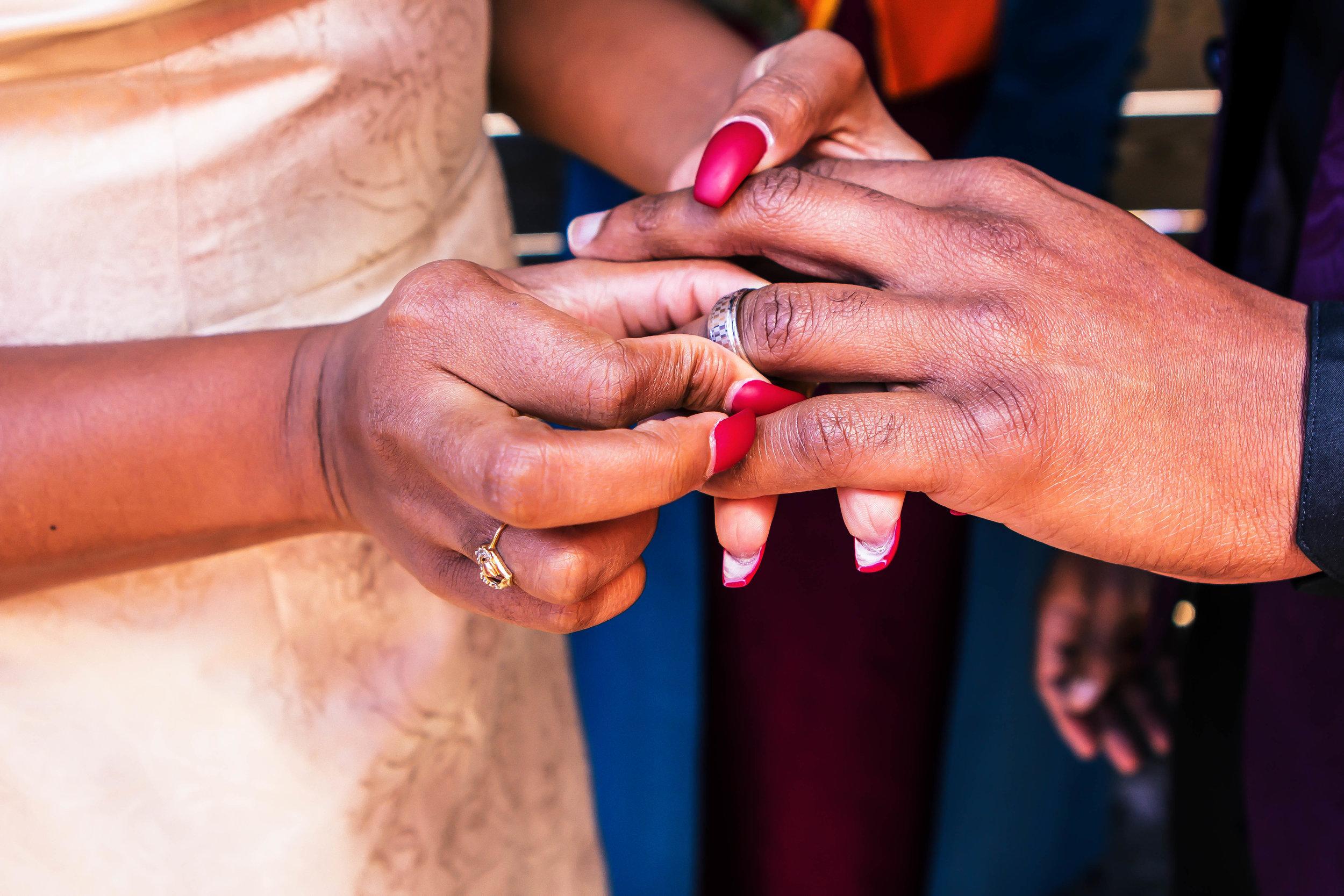 Luxe LeBlanc_Wakandan Wedding_Ring Exchange 2.jpg