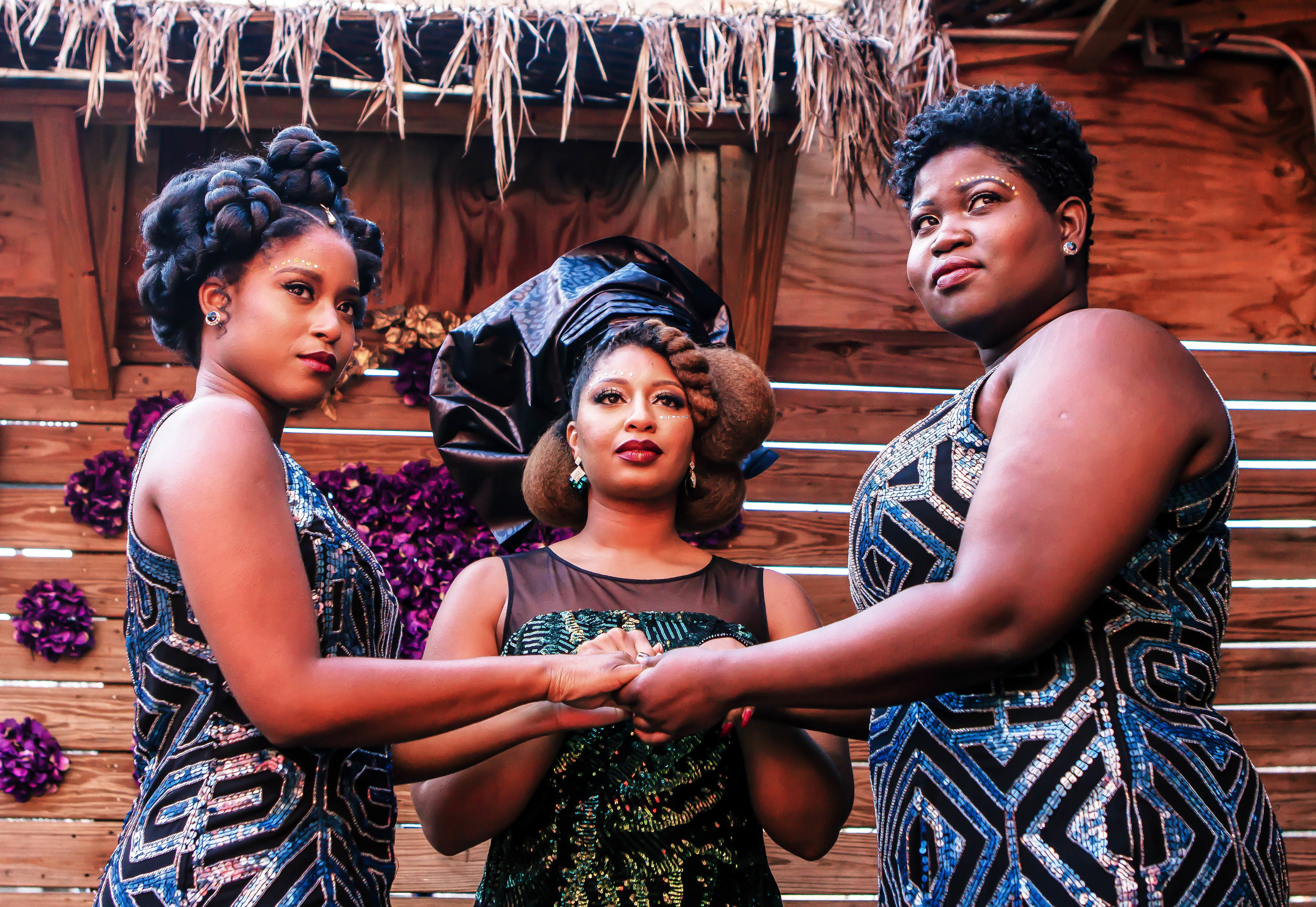 Luxe LeBlanc_Wakandan Wedding_Trio 2.jpg
