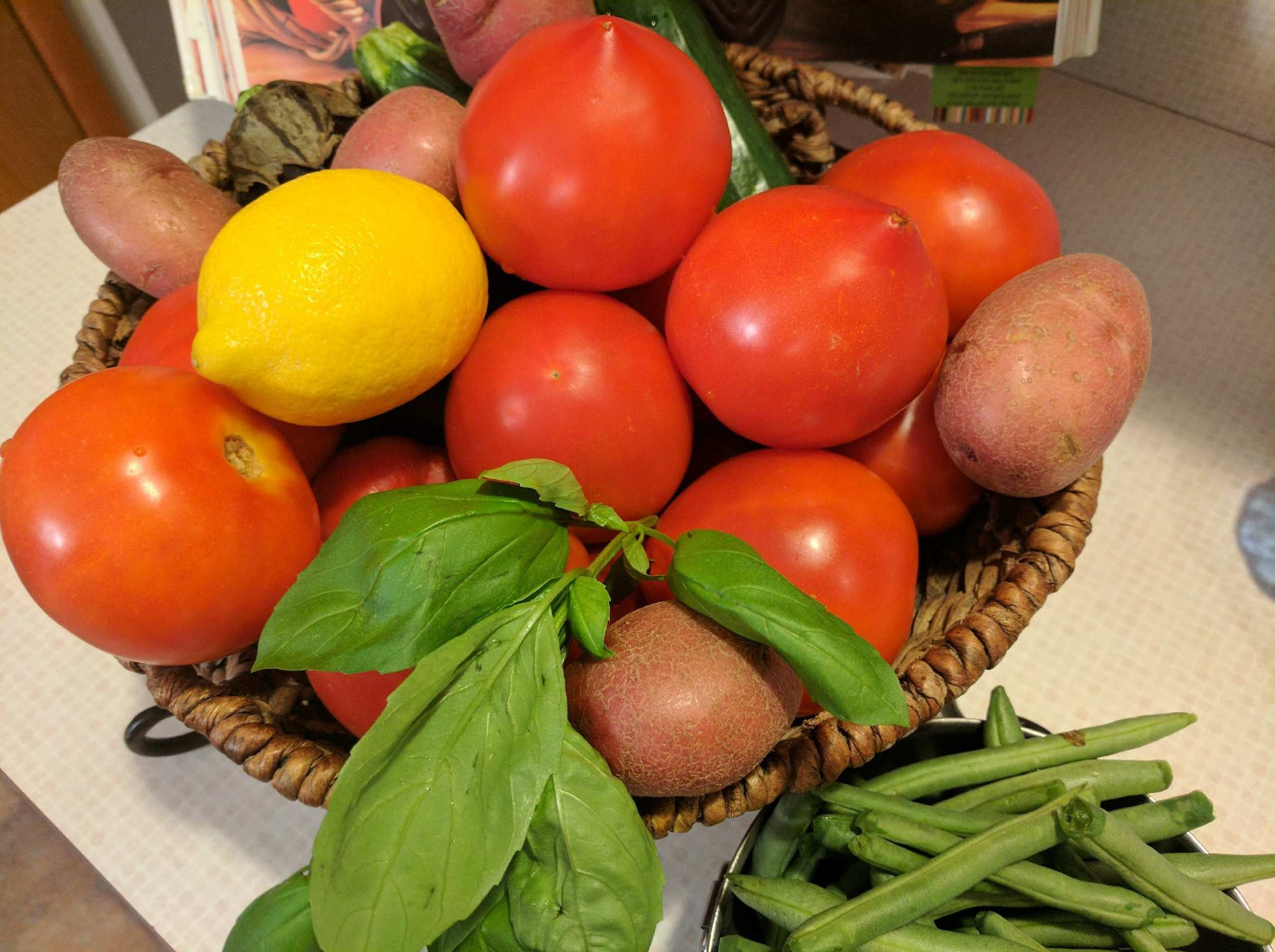 Fresh produce abound during summer in my home state of New Jersey!