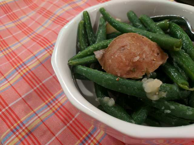 When life gives you green beans, make salad!