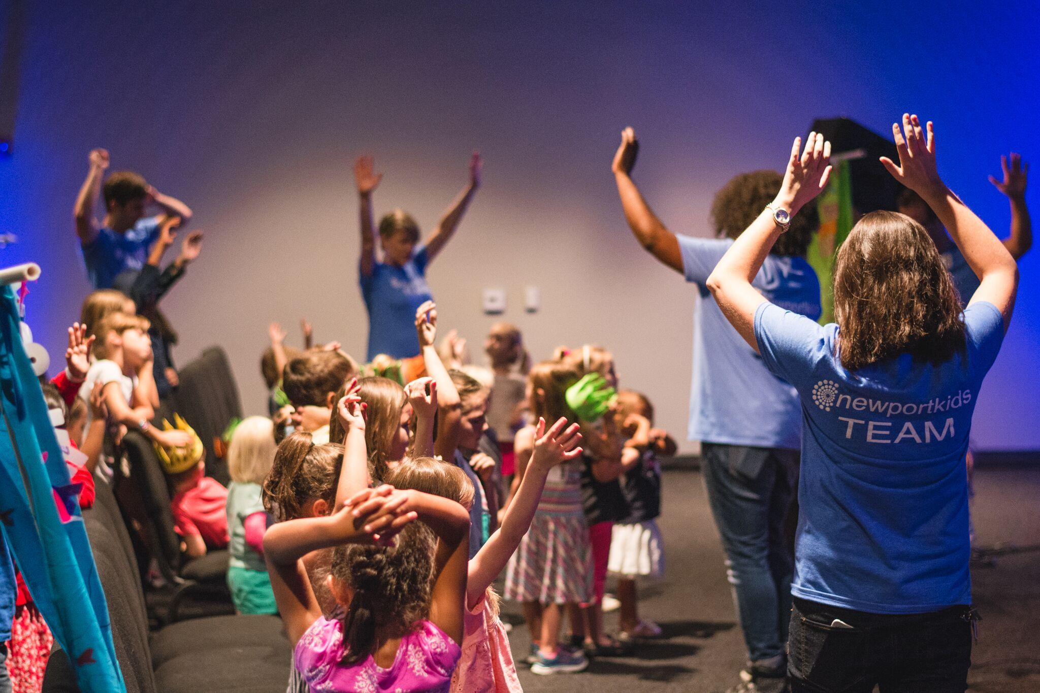 KIDS LEADERS - KIDS MINISTRY VOLUNTEERS SUNDAY AM