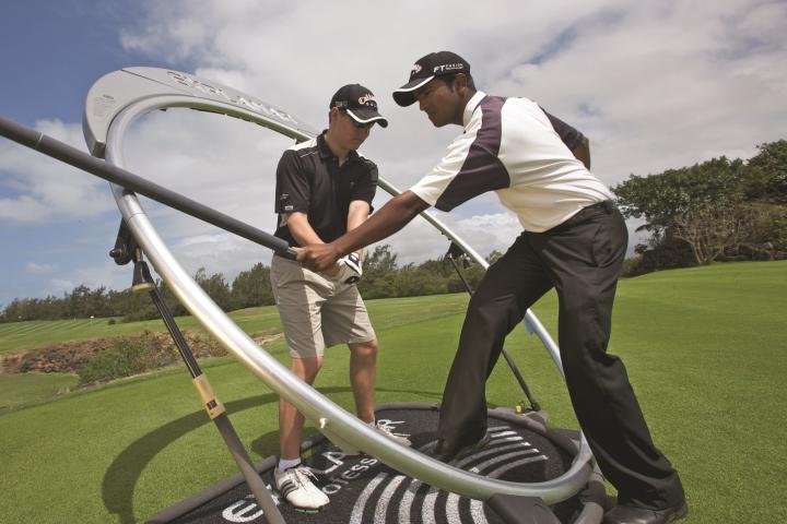 The Ile aux Cerfs Golf Club Academy