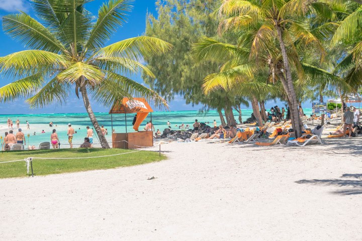 The Beach - Ile aux Cerfs Leisure Island