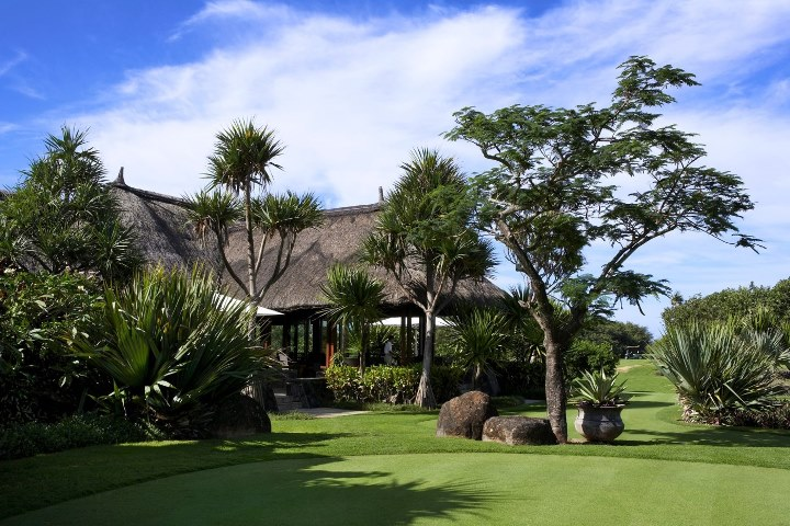 The Clubhouse at the Ile aux Cerfs Golf Club
