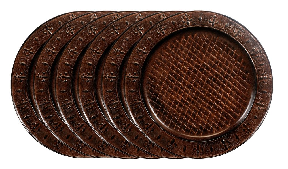 Old Dutch 13/¿ Round D/écor Copper Charger Plate