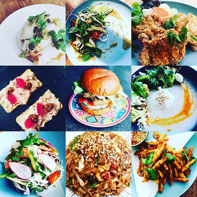 Another tasty chicken year! Thanks for everyone who came to eat and support @freebirdckn in 2017! This year has been been a big one with our relocation to the bigger space and expanded menu! Here's some of our highlights of #2017bestnine #chickendinner #ilovechicken #goodbye2017 #welcome2018