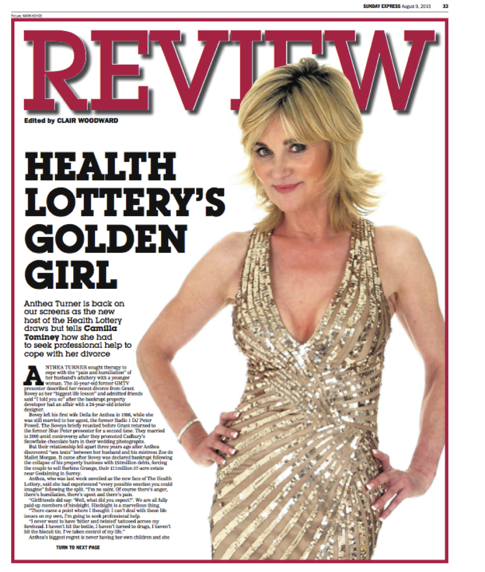 Anthea Turner, Review.png