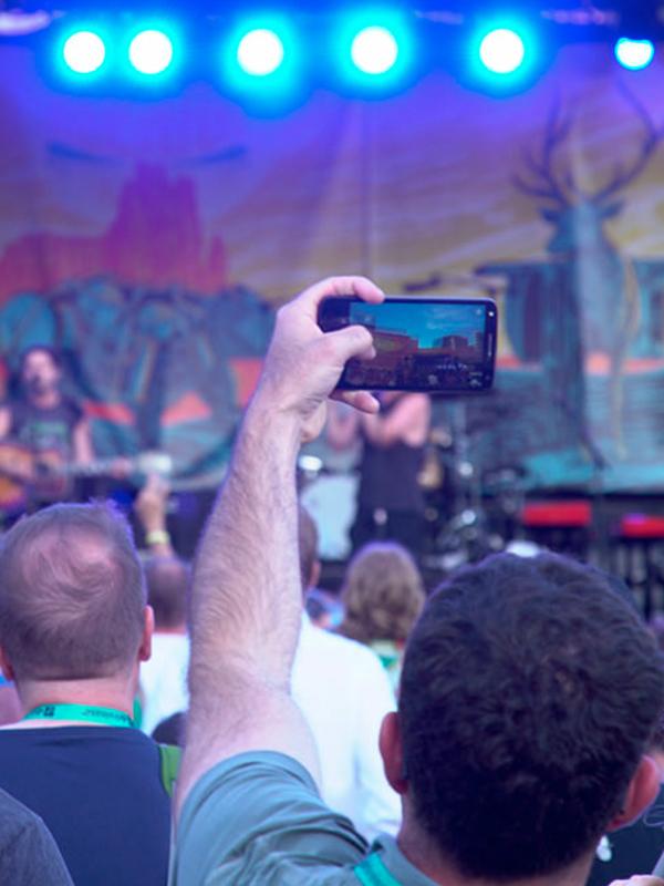 Keen Fest Stage Backdrop