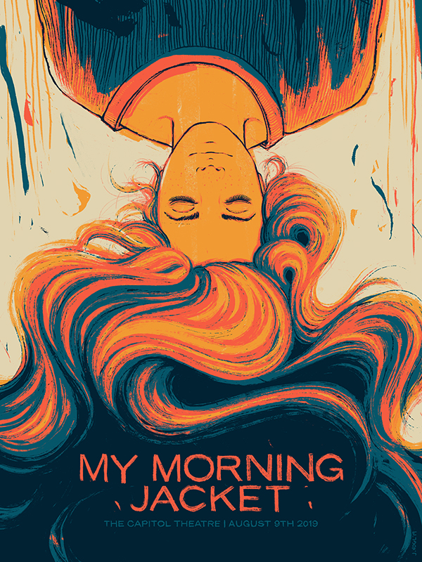 My Morning Jacket | The Capitol Theatre | 18x24 Screen print. Ed of 250