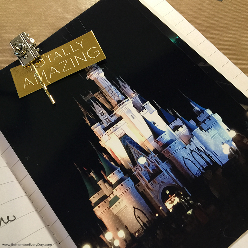 "Disney Vacation Travel Journal - ""as it happens"" but not really.  :)"