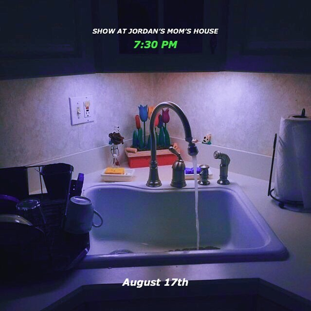 SHOW AT JORDAN'S MOM'S HOUSE We're going to film a stripped version of something real and put it on YouTube so if you come you'll be in the video. Plan your fit accordingly. Listen to it a bunch before so you can sing along. We're just trying to think outside the box and make this band work. DM for the address. It's in Hilmar, Ca.