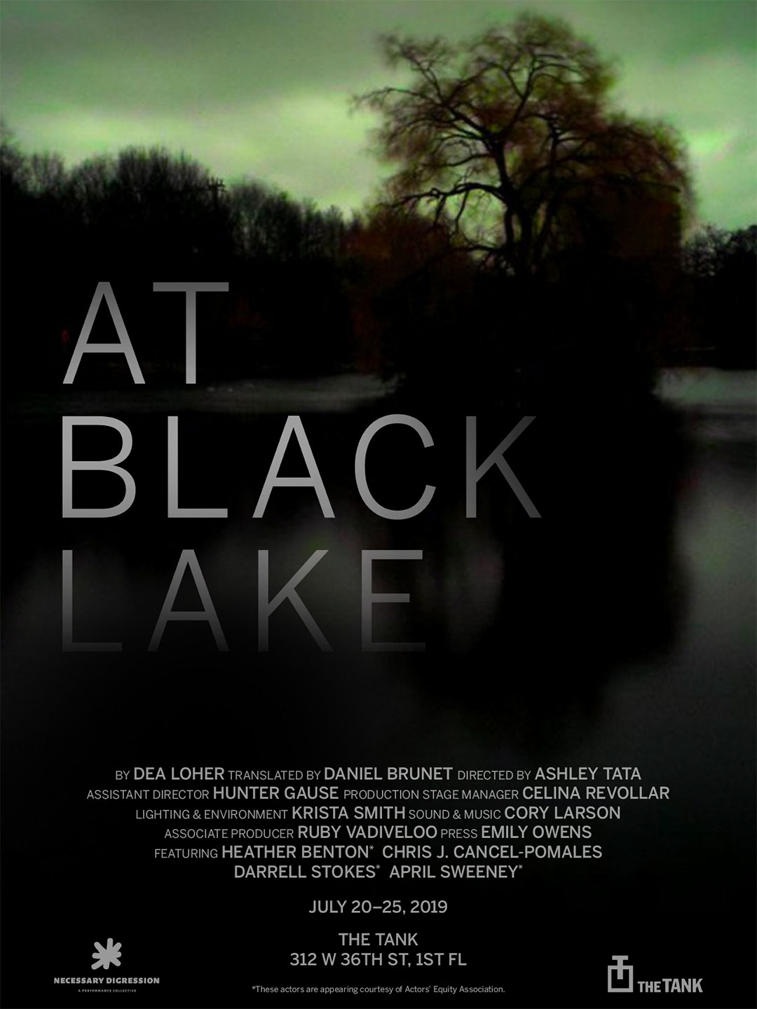 At Black Lake Poster