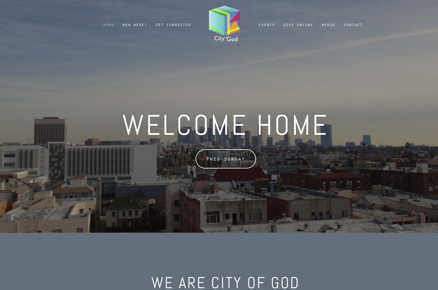 Website - City of God