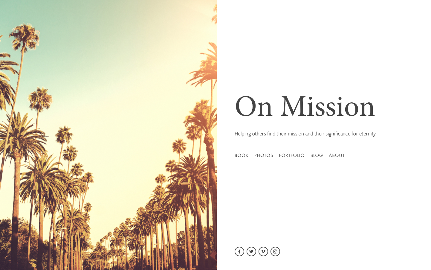 Website - On Mission