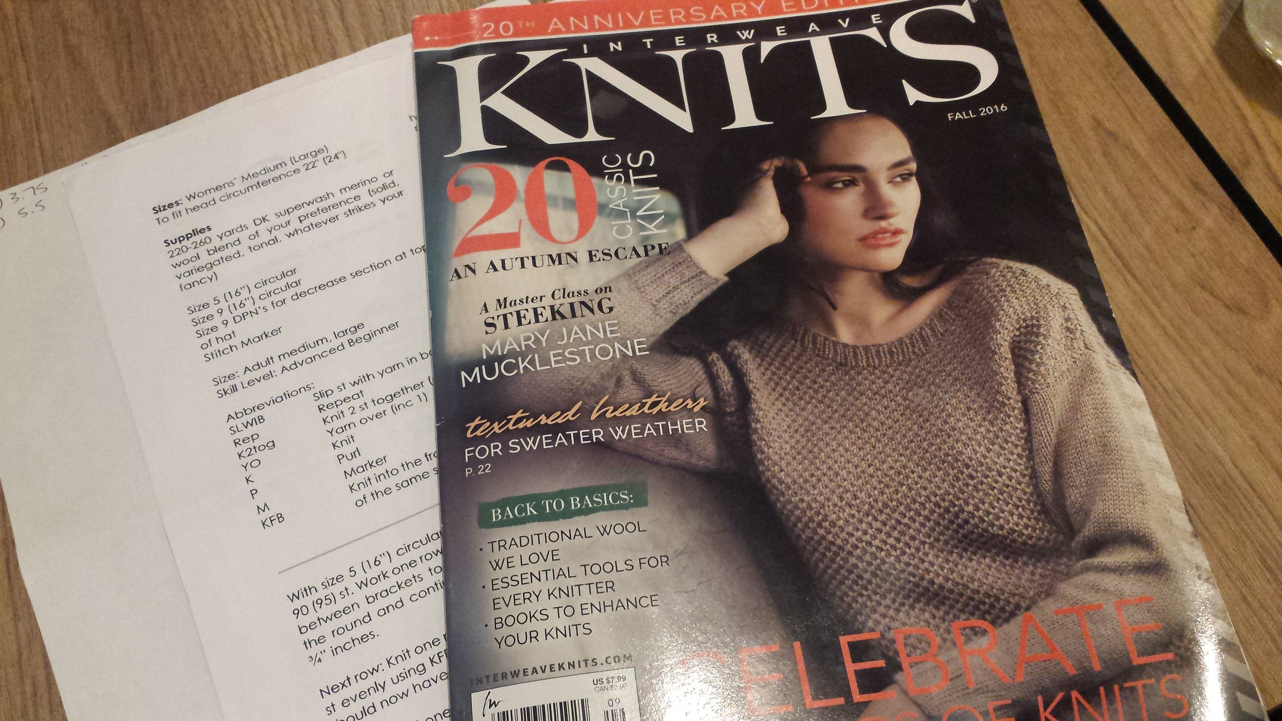 If you have seen the latest knitting magazines you will have will have noticed all the beautiful natural colours and I for one love the naturals! You will still find lots of yarn left in its beautiful natural state as well as tastefully dyed yarns for when you need colour, in my store. I am always looking for new yarn but continue to support local suppliers as much as possible.