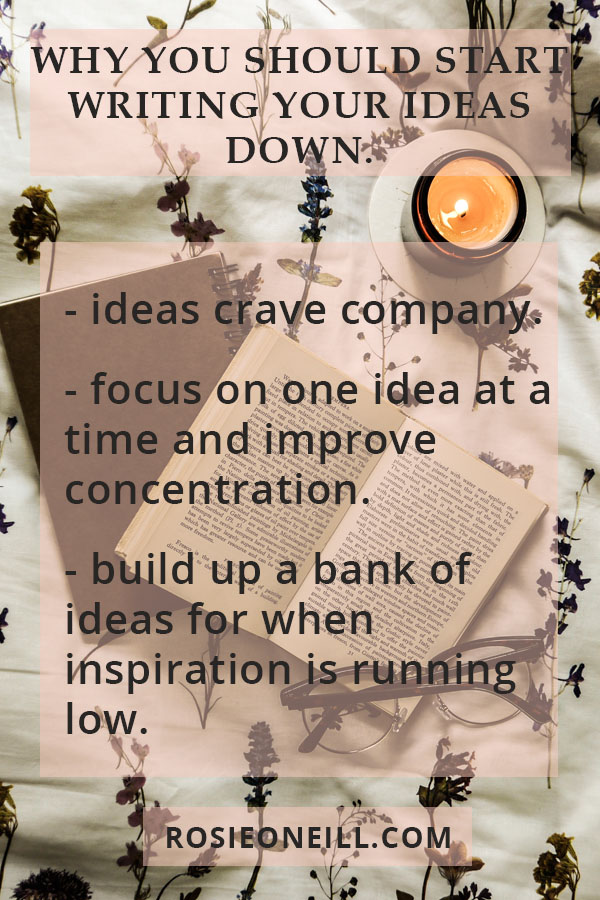 why you should start writing your ideas down pin info.jpg