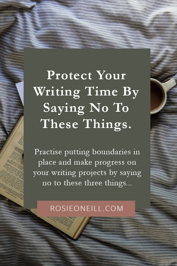 How to protect your writing time