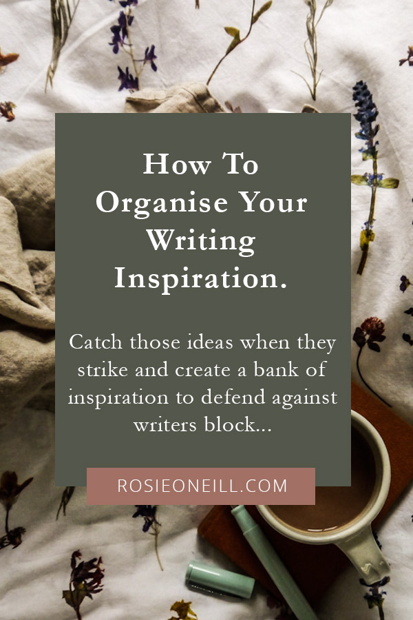 Tools for organising your writing inspiration