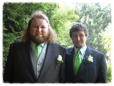 Brothers Erik & Lars Granstrom in 2007.