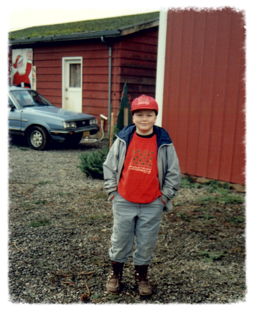 Erik Granstrom, Age 10, 1989.