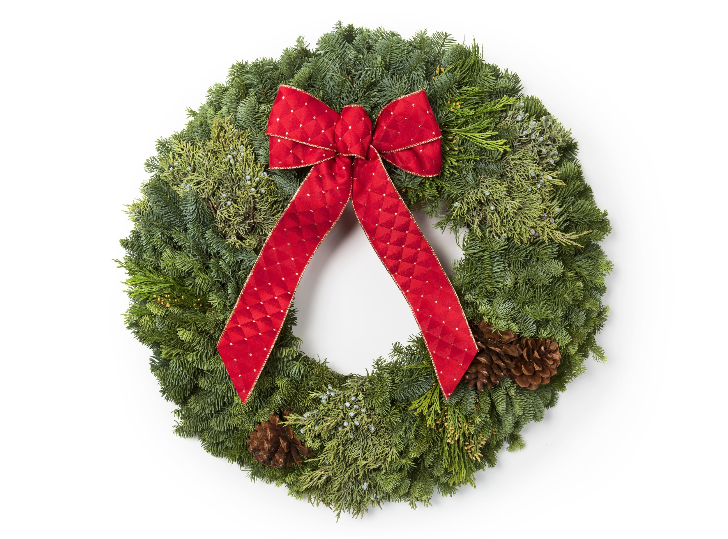 "26"" Mixed Evergreen Wreath"