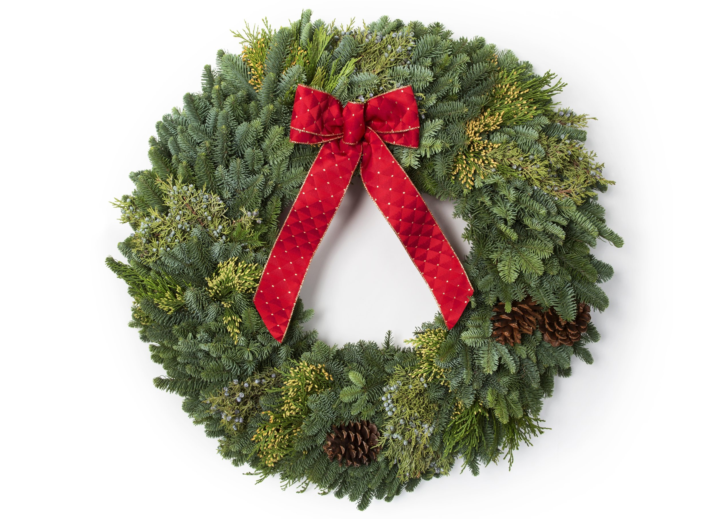 "30"" Mixed Evergreen Wreath"