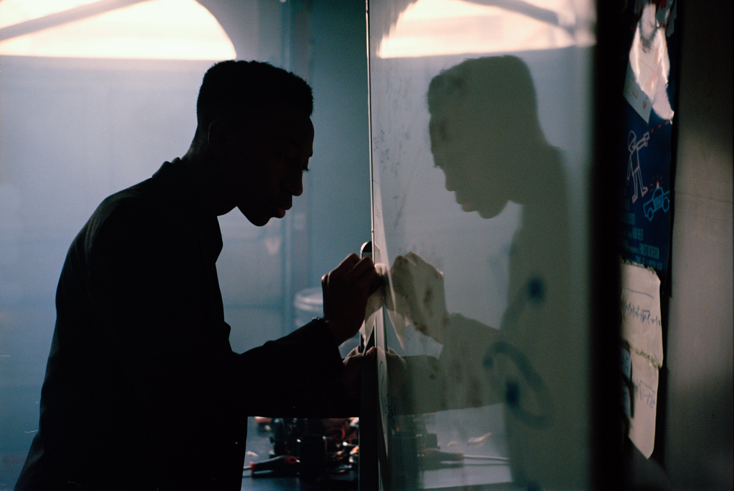 "Dante Crichlow as Sebastian Thomas in ""See You Yesterday""  Kodak Ektar (35mm)"