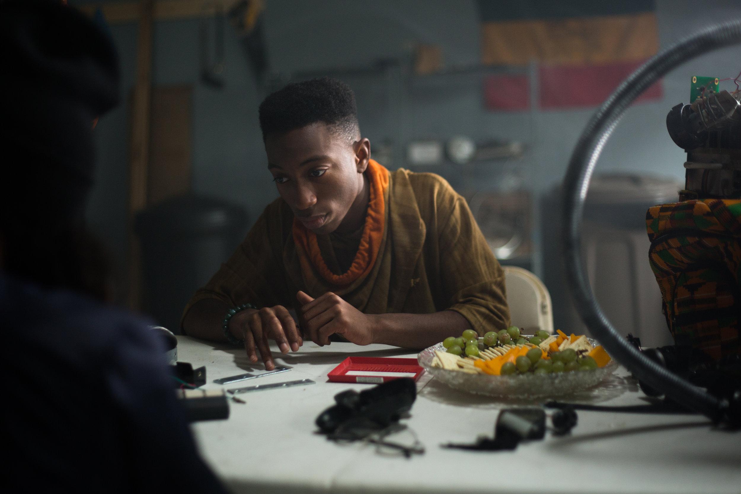 """Dante Crichlow as Sebastian Thomas in """"See You Yesterday""""  Canon 5d"""