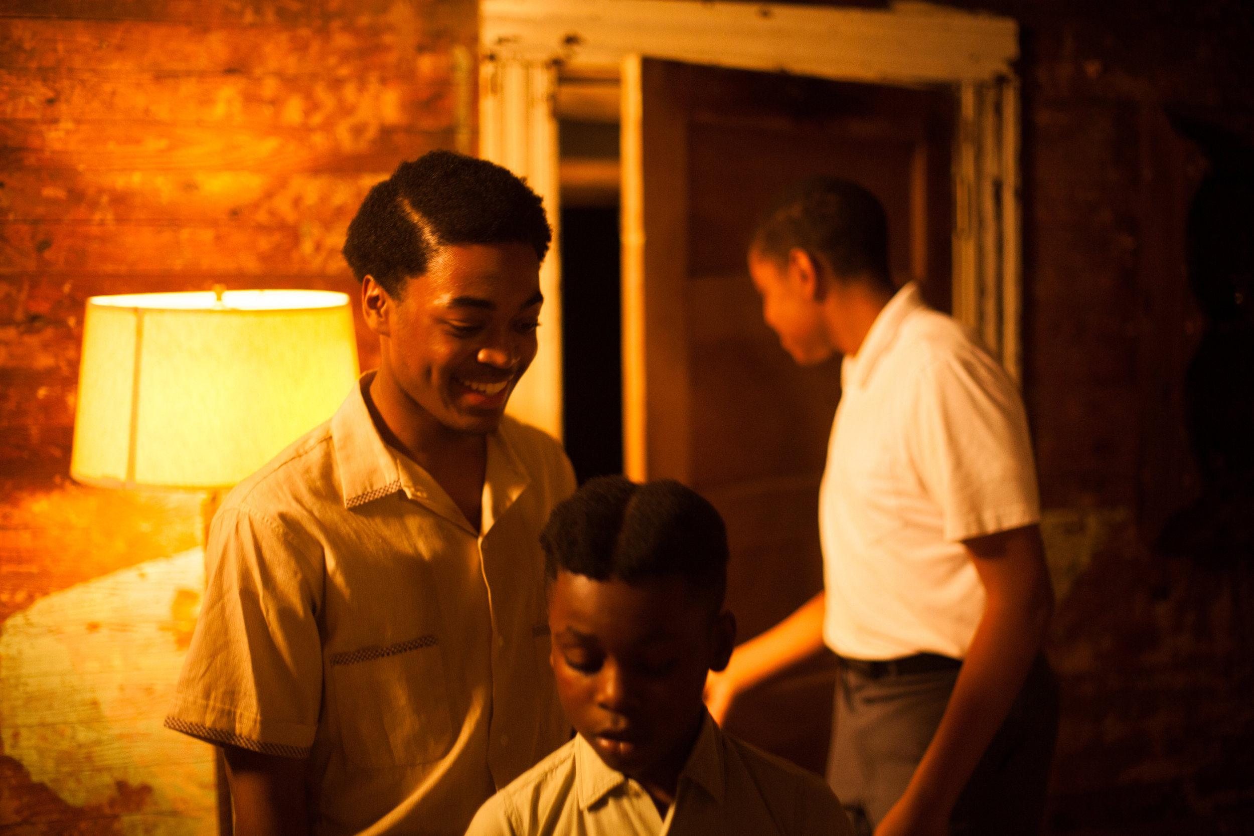 Dorian Davis as Maurice Wright, Ty Larry as Simeon Wright, and Joshua Wright as Emmett Till  Canon 5d