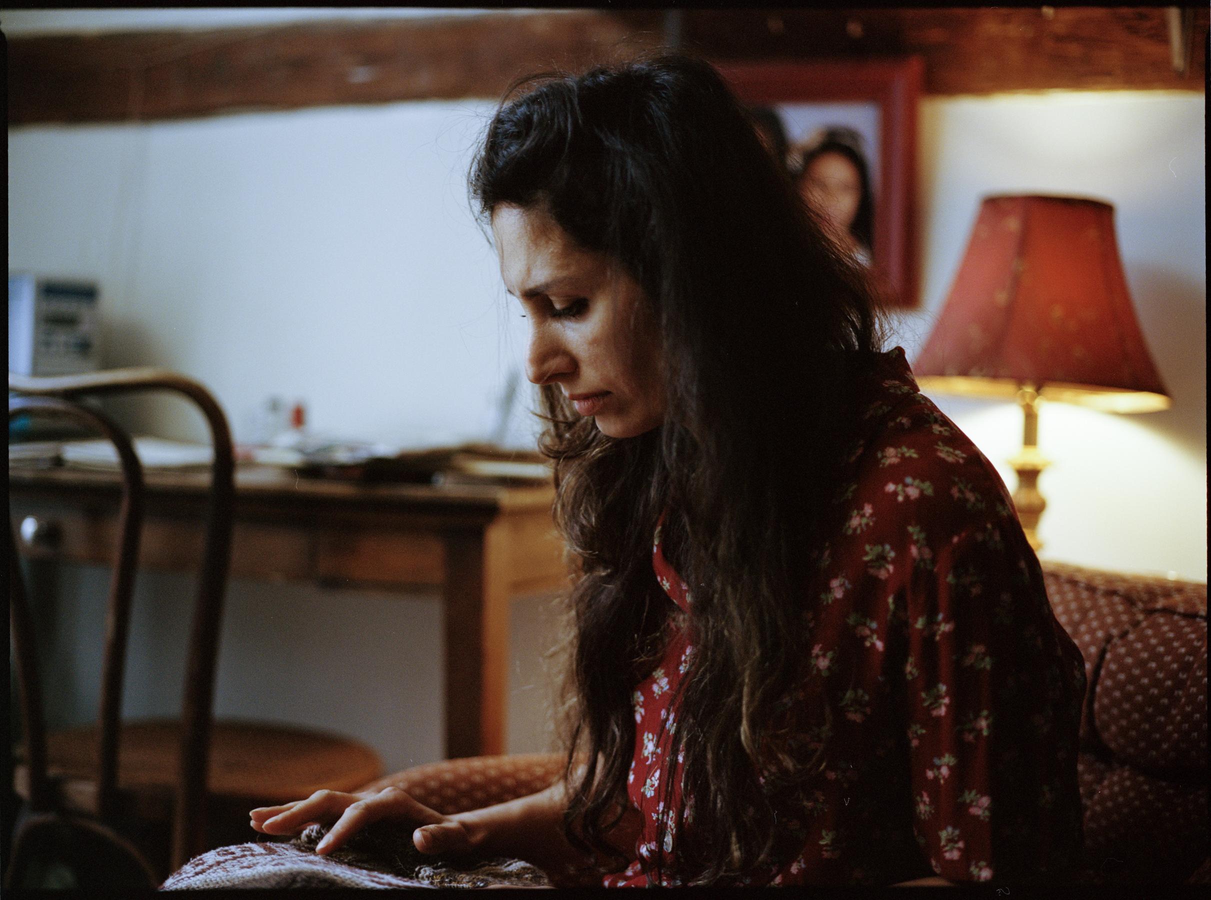"Dudu Eser as Ada in ""Nettles""  645 Kodak Portra (Medium Format)"