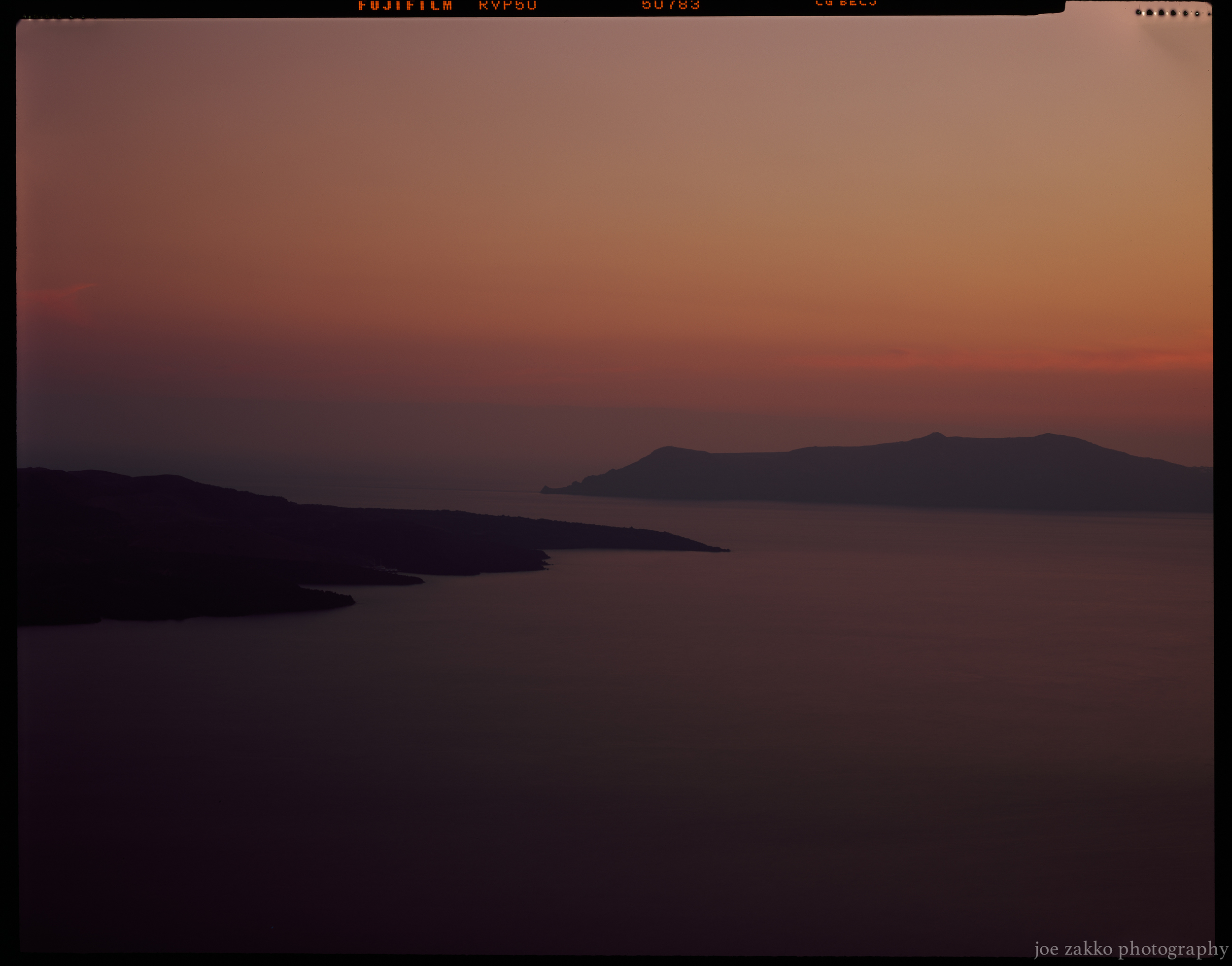 Santorini Sunset I
